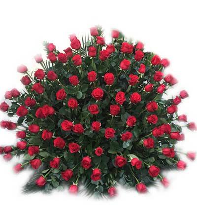 Ramo rosas grande Madrid