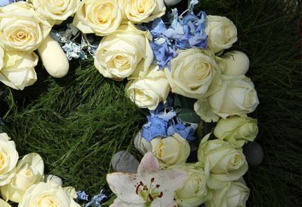 Coronas Flores Funeral