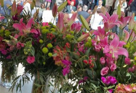 Arreglo flores evento