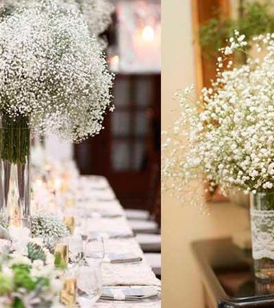 Banquete flores