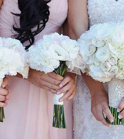 Arreglo flores boda