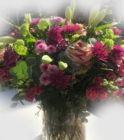 Ramo de flores romantico
