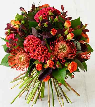 Ramo de flores tropical