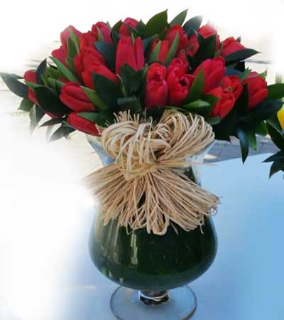 Ramo de tulipanes. Madrid Floristería cc49a6759f0f9